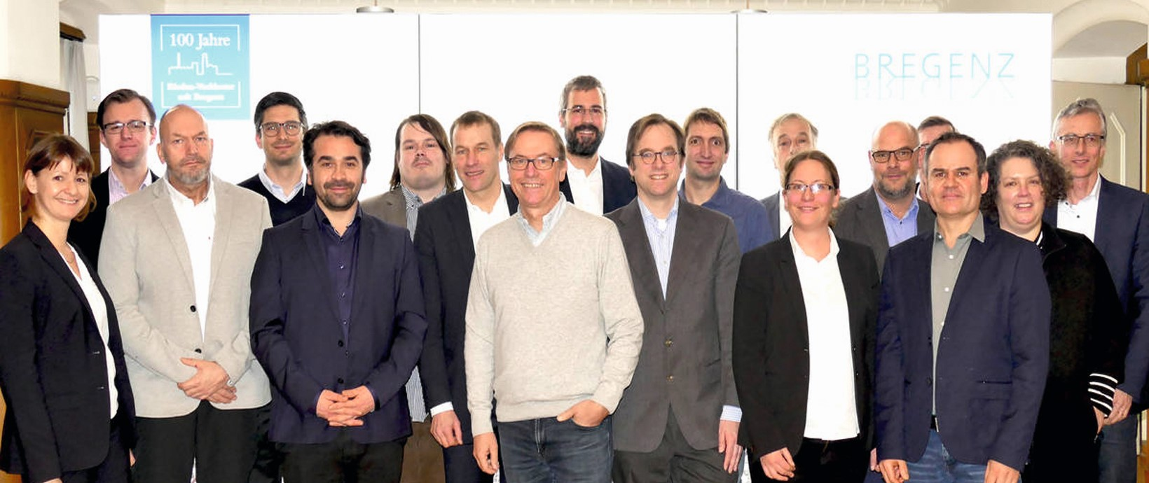 Gruppenbild der Projektpartner der Smart Government Akademie