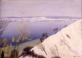 Adolf Dietrich: Winterlandschaft
