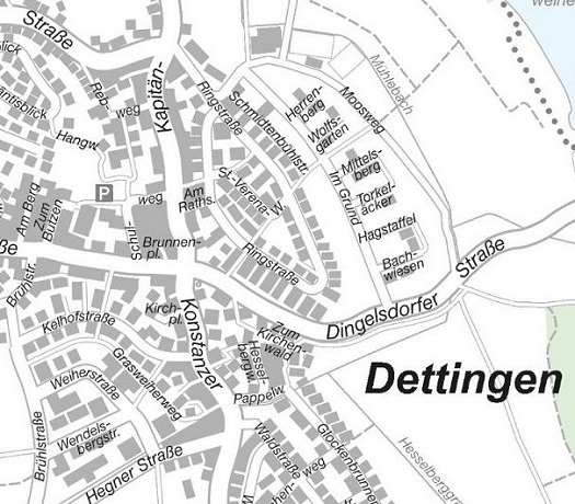 Ortsmitte Dettingen
